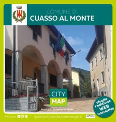Cuasso Al Momte City Map